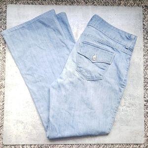 NYDJ High Waisted Wide Leg Jeans F24
